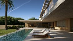 JAIME SALVÁ, Arquitectura  Interiorismo - J776 CREU 65. ENVY Bali, Infinity Pool, Building Companies, Concrete Design, Interior Design Studio, Modern House Design, Interior Architecture, Exterior, House Styles
