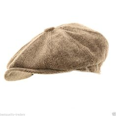 033e53d9275 Mens Ladies Herringbone Baker Boy Caps Newsboy Hat Country Gatsby  Flat Cap  Baker Boy Hat