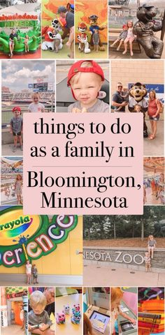 things to do as a family in Bloomington, MN | Mall of America, Minnesota Zoo, Crayola Experience, Nickelodeon Universe