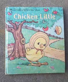 Chicken Little A Golden Tell-A-Tale Book 1990