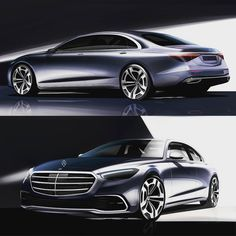 "milancee on Instagram: ""Mercedes S class w223 design sketch  #mercedesbenz #sclass #design #sketch #w223 #design #cardesign @gorden.wagener #freehand…"" Car Design Sketch, Car Sketch, Mercedes S Class, Mercedes Benz, Benz S Class, Futuristic Cars, Cool Sketches, Transportation Design, Milan"
