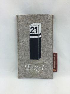 Handytaschen - Smartphonehülle IPhone 6 aus Filz - Texel - Pal - ein Designerstück von Hermers-Design bei DaWanda