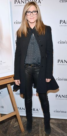 Look of the Day - November 29, 2014 - Jennifer Aniston from #InStyle
