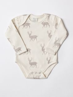 Organic Cotton Onesie by SoftBaby at Gilt