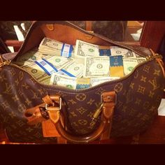 Thank You for the all the Cash in the Louis vuitton