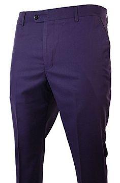 Mens Purple Plum Trousers Regular Smart Casual Formal Black Trim Marc Darcy http://www.amazon.co.uk/dp/B00M1T3QAO/ref=cm_sw_r_pi_dp_ZM2Eub06DFSYN