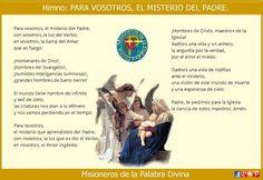 MISIONEROS DE LA PALABRA DIVINA: HIMNO LAUDES - PARA VOSOTROS, EL MISTERIO DEL PADR...