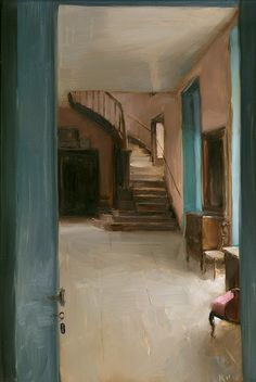 Foyer Stairs by Kenny Harris