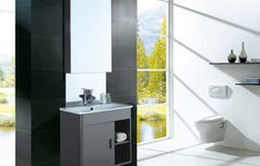 Stainless Steel Vanities Code                     :  DSA-006  Type                   :  Bathroom Cabinet With Basin  Material              :  Stainless Steel  Main Cabinet     :  525x450x500mm Shelf                   :  300x130mm Mirror                 :  780x450mm For more info please visit at http://www.dooa.in/product/dsa-006/
