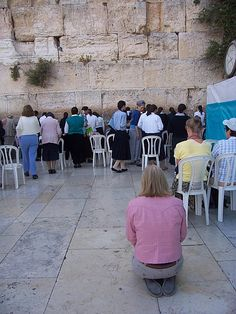 The Wailing Wall ... and yeah, that's me ...