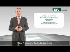 Máster Profesional en Gestión Sanitaria (Oficial): http://www.cef.es/masters/Master-Profesional-en-Gestion-Sanitaria-444636948M.asp