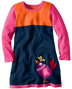 Cozy Colorblock Sweater Dress | Girls Dresses