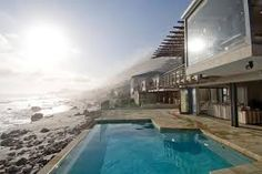 Image result for cape town beach Beach Villa, Beach House, Clifton Cape Town, South African Homes, Table Mountain, Townhouse, Seaside, Vacation, Outdoor Decor