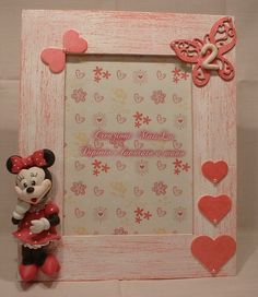 Quadretto Shabby Minnie