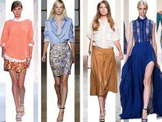 Shopaholic blog de moda: La blusa: distintas formas de llevarla