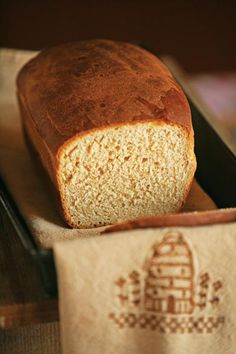 Try this Light Wheat Sandwich Bread recipe for a healthy bread recipe that uses honey for the sweetener.