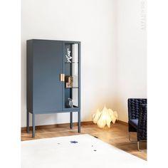 Asplund - Frame Semi-Cabinet - Lekker Home - 2 Danish Furniture, Metal Furniture, Modern Furniture, Furniture Design, Classic Dining Room, A Frame House, Cabinet Design, Storage Cabinets, Glass Shelves