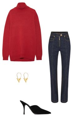 """""""Untitled #28"""" by brontelindley ❤ liked on Polyvore featuring Louis Vuitton, Prada and Marni"""