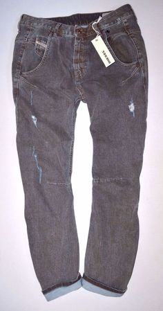 a5b589bb NEW Ladies DIESEL FAYZA 0R15Z urban BOYFRIEND JEAN womans W26 L32 size 8  32
