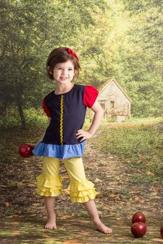 Apple Princess - Snow White Inspired Looking for cute combos to match your favorite brands like Matilda Jane , Eleanor Rose and Smocked Overstock check out www.adorableessentials. com - Adorable Essentials at Affordable Prices. #aerepabigail