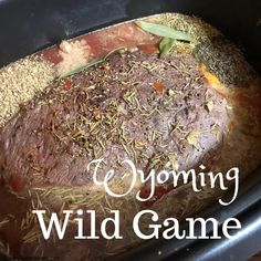 Although rocky mountain oysters (bull testicles) are really popular in many parts of the state. Oh no - but wild game also ranks high. Pot Roast Brisket, Beef Tenderloin Roast, Pork Roast, Prairie Oyster, Bacon Wrapped Steak, Rocky Mountain Oysters, Roast Chicken And Gravy, Cowboy Caviar, State Foods