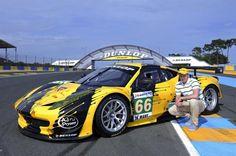 3D Art Car Dunlop