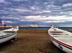 Paseo marítimo de Huelin.
