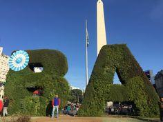 Buenos Aires - Obelisco - Argentina - Raizao - Viagens 2017 - Plaza de la república