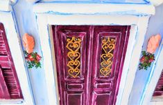 Original Architecture Installation by Dimitrios Manos Wood Art, Facade, Saatchi Art, Folk, Greek, Traditional, Architecture, Painting, Home Decor