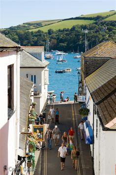 Salcombe town, Devon, England