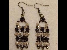 Victorian Lace Earrings Tutorial - YouTube