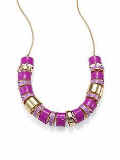 Kate Spade New York Bright and Shiny Beaded Necklace