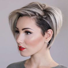 45 Edgy Bob Haircuts To Inspire Your Next Cut Edgy bob haircuts vary an. - 45 Edgy Bob Haircuts To Inspire Your Next Cut Edgy bob haircuts vary and there will be some - Edgy Bob Haircuts, Hairstyles Haircuts, Layered Hairstyles, Hairstyles Pictures, Pixie Bob Haircut, Short Trendy Haircuts, Inverted Hairstyles, Short Asymmetrical Hairstyles, Pixie Haircut Gallery