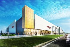 #retail #architecture Its leasable area amounts to 33,500 sqm.