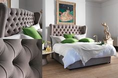 The Valentina Bed | Sleep in style on our exquisite Valentina divan; our beautiful Regent style design, fit for a King.