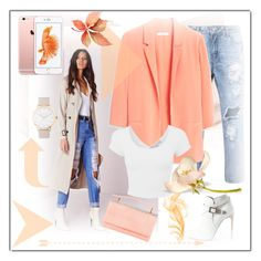 """""""#737"""" by ilona-828 ❤ liked on Polyvore featuring MANGO, Yves Saint Laurent, The Horse, Judith Leiber, StreetStyle, autumn and polyvoreeditorial"""