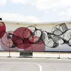 APPLE MURAL BY COLOUR MY WALLS Walls, Exterior, Apple, Colour, Decor, Apple Fruit, Color, Decoration, Outdoor Rooms