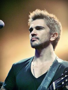 """Colombia's heavy metal man Juanes is up for Album of the Year with his MTV Unplugged set. His work with Juan Luis Guerra, """"Azul Sabina,"""" is also nominated for Song of the Year."""