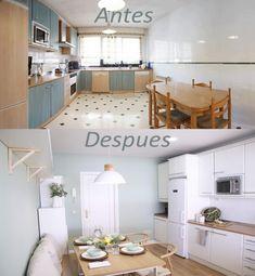 Transforma tu cocina sin obra en 10 pasos – Tavara Muebles Loft, Bed, Furniture, Home Decor, Wooden Countertops, Wicker Furniture, Painted Furniture, Herb Planters, Gold Lamps