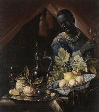 A Moor by Juriaen of Streeck (1619-1673). Most people do not realize how many pictures exist of Moors in Europe.
