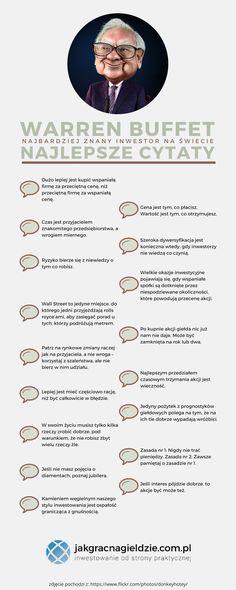Warren Buffet Cytaty - Infografika