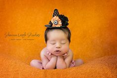 Sweet Newborn Witch Hat Baby Witch Hat by ASweetSweetBoutique, $25.00