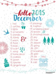 Documenting December Daily 2015 prompts at StampinFool.com