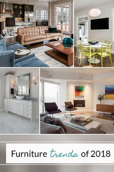 Furniture Trends For 2018 - Understand the current interior design trends & how to integrate them into your home. 2018 Interior Design Trends, Interior Design Images, Design Blogs, Furniture Styles, Fashion Design, House Design, Top, Home Decor, Inspiration