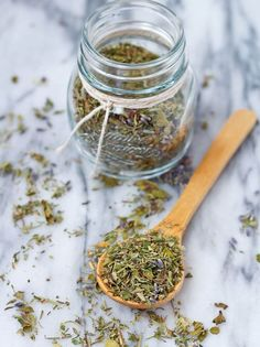 Use this Herbes de Provence recipe to make this fragrant herb mixture at home - it's easy and you'll know you're using quality ingredients! As you all hurry to plan your Thanksgiving feasts, I have a quick and easy recipe for you. I'm excited to sharethis one for a few reasons: It would be perfect rubbed onto a certain type of poultry who says 'gobble gobble' and whose name starts with a 'T.' It would be great for gifting -- time to start thinking about holiday gifts! It would be delicious…