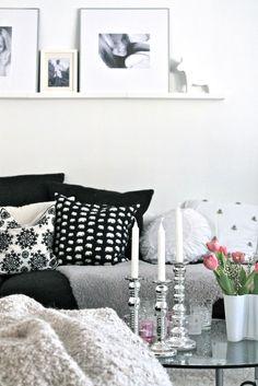 Silver, black, white, grey, pink