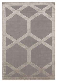 Cora by Suzanne Sharp | Wool and Silk Contemporary hand-knotted designer rugs