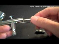 How to Take an Airbrush Apart
