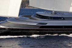 maltese falcon yacht | MALTESE FALCON BY PERINI NAVI | Superyacht Equipments Blog