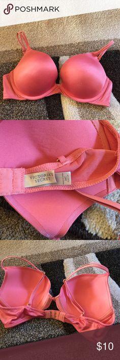 Victoria's Secret Push Up Bra. Size 34C Victoria's Secret push up bra. Has some wear to it. Price reflects that. Victoria's Secret Intimates & Sleepwear Bras